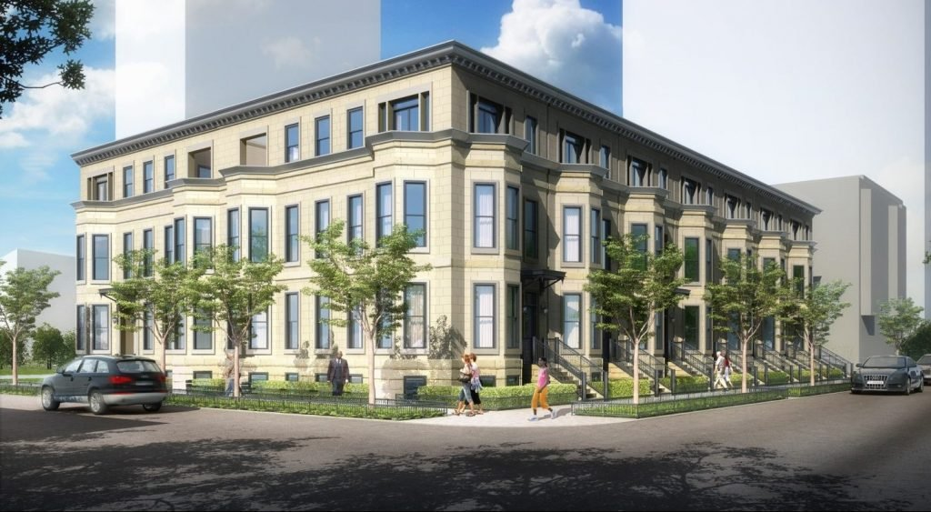 Chestnut Row Homes Luxury Apartments for rent